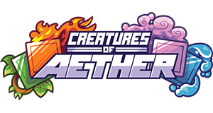 Creatures of Aether Logo